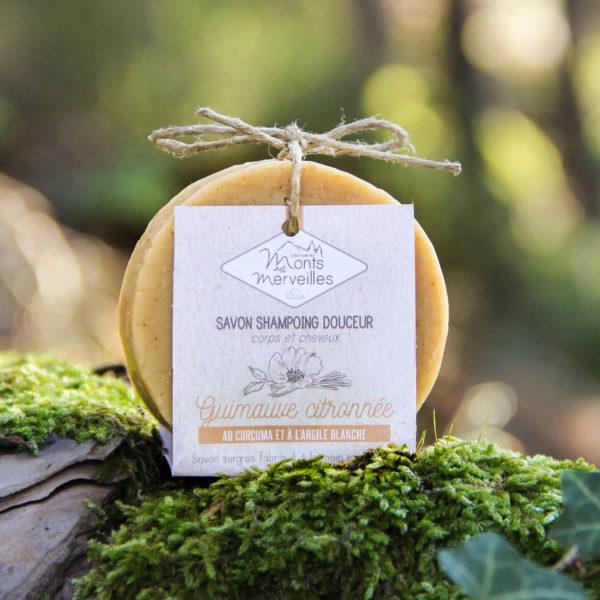 Savon shampoing solide Guimauve citronnée