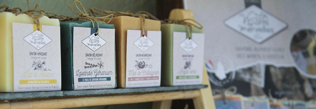 Distribuer les savons de la Fabrique des Monts et Merveilles