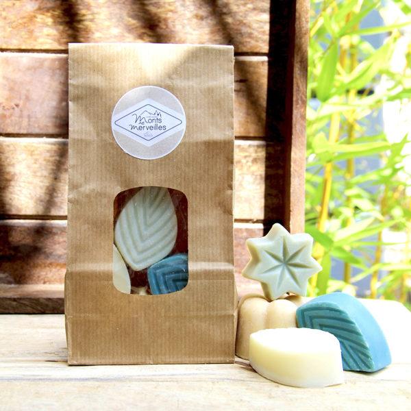 assortiment savons-miniatures