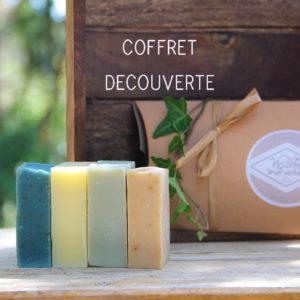 Coffret DÉCOUVERTE 4 savons de 75g