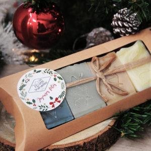 Coffret DÉCOUVERTE Noël 4 savons de 75g