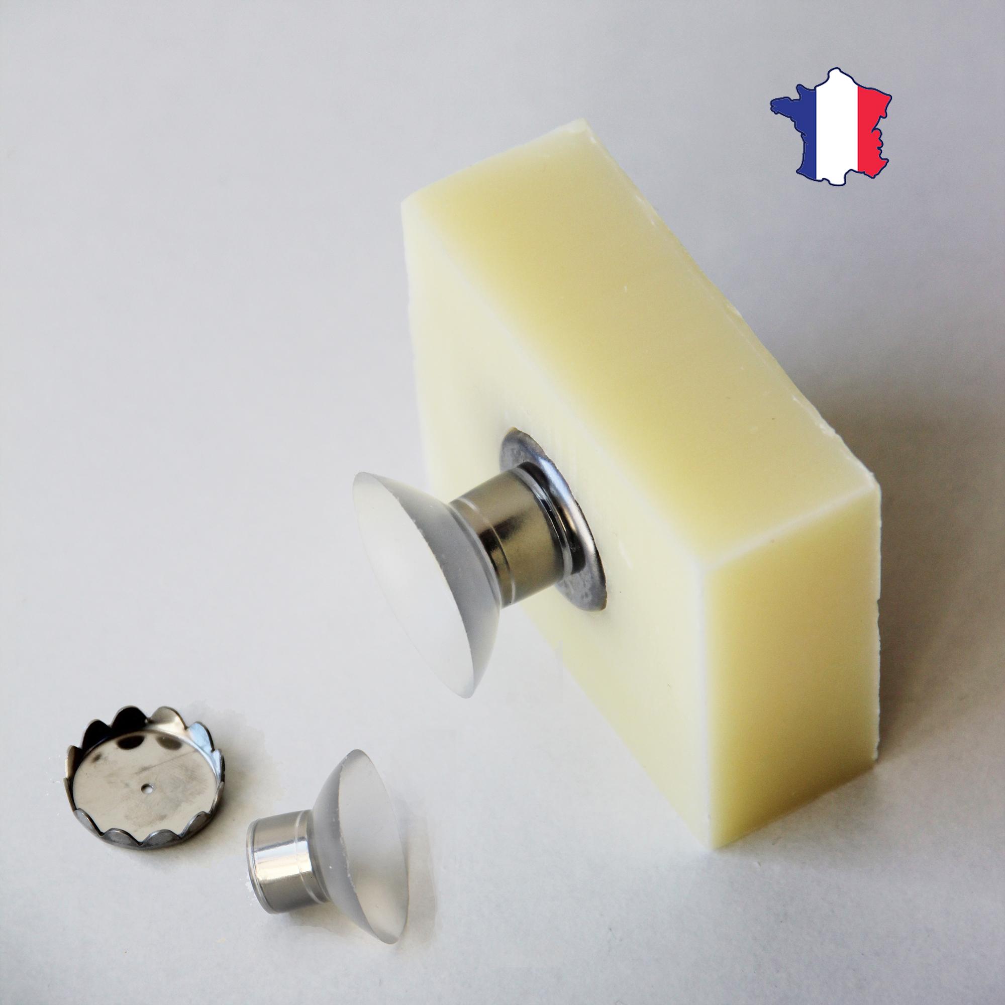 Porte savon minimaliste aimanté