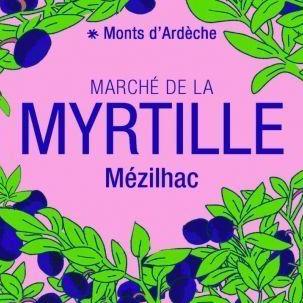 marché myrtille sauvage mézilhac