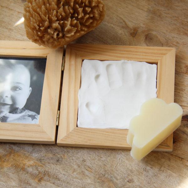 Coffret-naissance savon nuage maman bébé